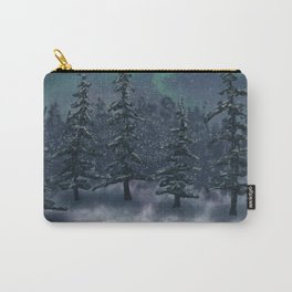 Wintry Forest Carry-All Pouch