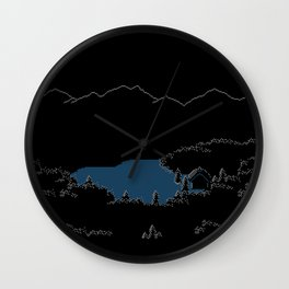 CABIN IN THE WOODS Wall Clock