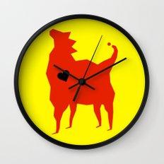 Royal emblem Wall Clock
