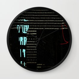 GRAPHIQUE - 1 Wall Clock
