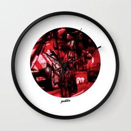 BMC Colours Wall Clock