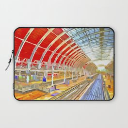 Paddington Railway Station Pop Art Laptop Sleeve