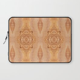 Olive wood surface texture abstract Laptop Sleeve