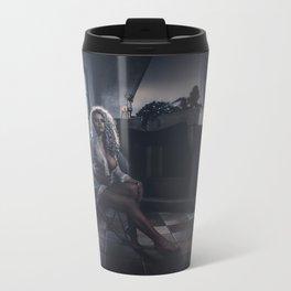 Tu m'as promis V Metal Travel Mug