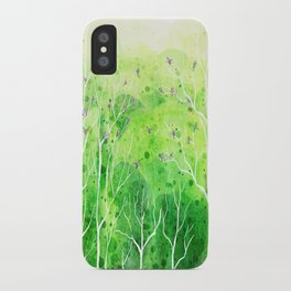 Beautiful Forest iPhone Case