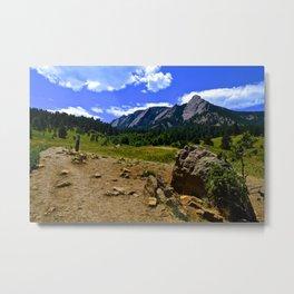 Flatirons - Boulder, Colorado Metal Print