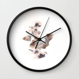 The Empress Mother - 151124  Abstract Watercolour Wall Clock