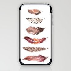 Bohemian Feathers iPhone & iPod Skin