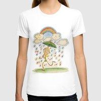 rain T-shirts featuring Rain by José Luis Guerrero