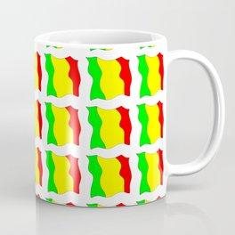 Flag of mali -mali,malien,malienne,malian,bamako,tombouctou,timbuktu,sikasso,mopti,mande Coffee Mug