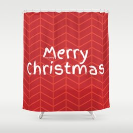 Merry Freaking Christmas Shower Curtain