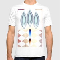 Ace White MEDIUM Mens Fitted Tee