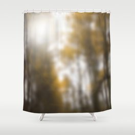 The forest blessed with rain Shower Curtain