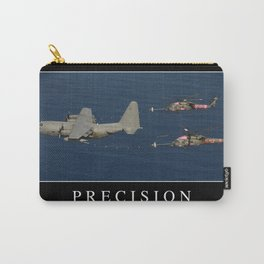 Precision: Inspirational Quote and Motivational Poster Carry-All Pouch