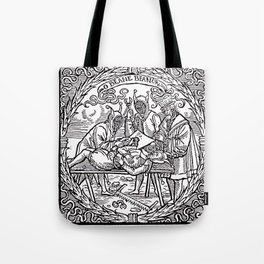 Depositing the Horns - Initiation Ritual Tote Bag