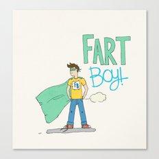 Fart Boy! Canvas Print