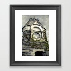 Rapunzel Castle (Central Park) Framed Art Print
