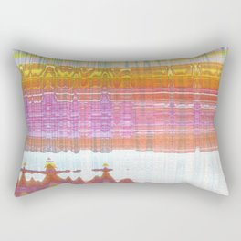 out of ink Rectangular Pillow