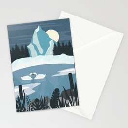 Cold Nights Stationery Cards