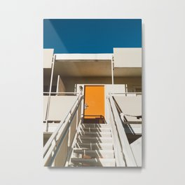 Hotel Halls II Metal Print