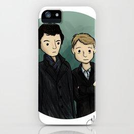 Sherlock & Watson iPhone Case