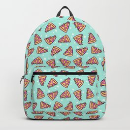 Pizza Magic // Green Backpack