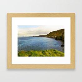 Carrick-a-rede, Northern Ireland Framed Art Print