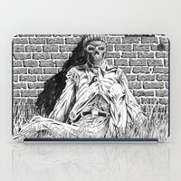 "lovecraft iPad Cases featuring Story Illustration for ""The White Ship' by H.P. Lovecraft by Robles Art"