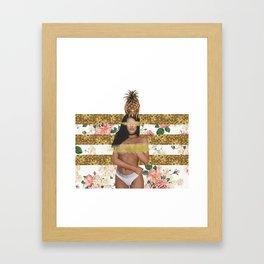 Gold Digger Framed Art Print