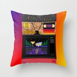 Be kind, rewind. Throw Pillow