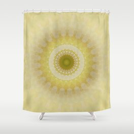 Mandala way to the light Shower Curtain