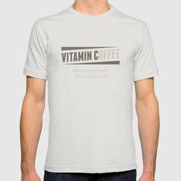 Vitamin C(offee) T-shirt