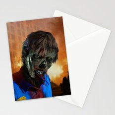 Zombie Cop Stationery Cards