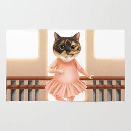 Ballerina Cat Rug