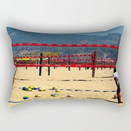 The Volleyball Lesson Rectangular Pillow