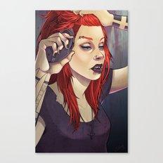 Petra 2.0 Pin-up Canvas Print