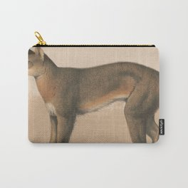 Vintage Illustration of an American Panther (1874) Carry-All Pouch