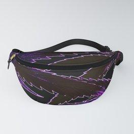 Purple Neon Haze Fanny Pack
