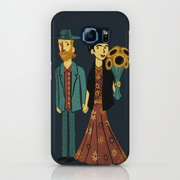 Love is Art Frida Kahlo and Van Gogh iPhone Case
