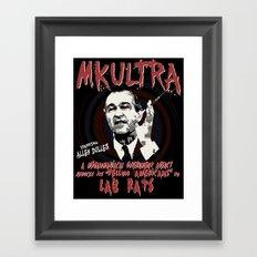 MKULTRA Framed Art Print