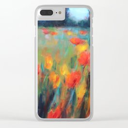 Hillside Brights Clear iPhone Case