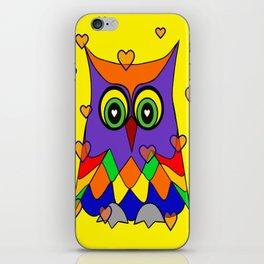 I Love Owls iPhone Skin