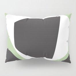 Grow Into Green - Minimal Geometric Abstract Pillow Sham