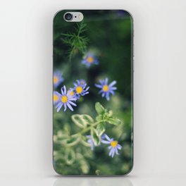 Blue and Yellow Flowers iPhone Skin