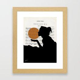 Music in the sun Framed Art Print