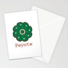 Peyote Cactus Stationery Cards