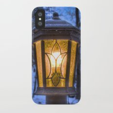 Frozen Lantern iPhone X Slim Case