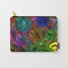 Colorful Crysal Carry-All Pouch