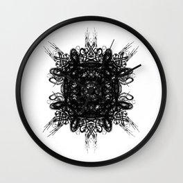 Bone Symmetry Wall Clock