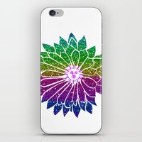 sunflower iPhone & iPod Skins featuring SunFlower by haroulita